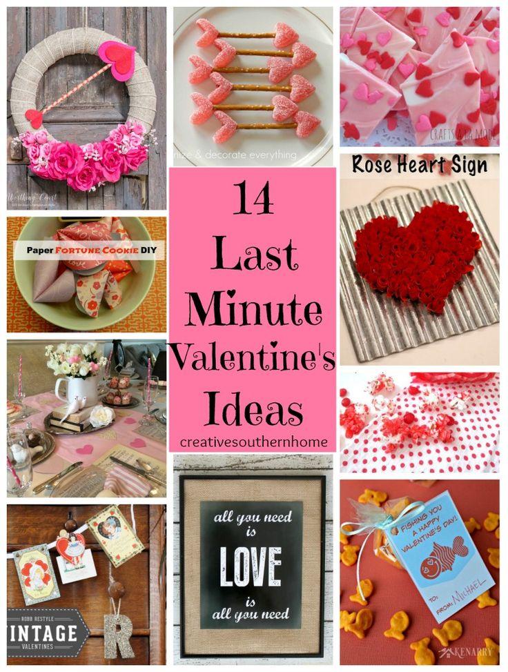 14 last minute valentine's ideas. Easy ways to help celebrate valentine's day