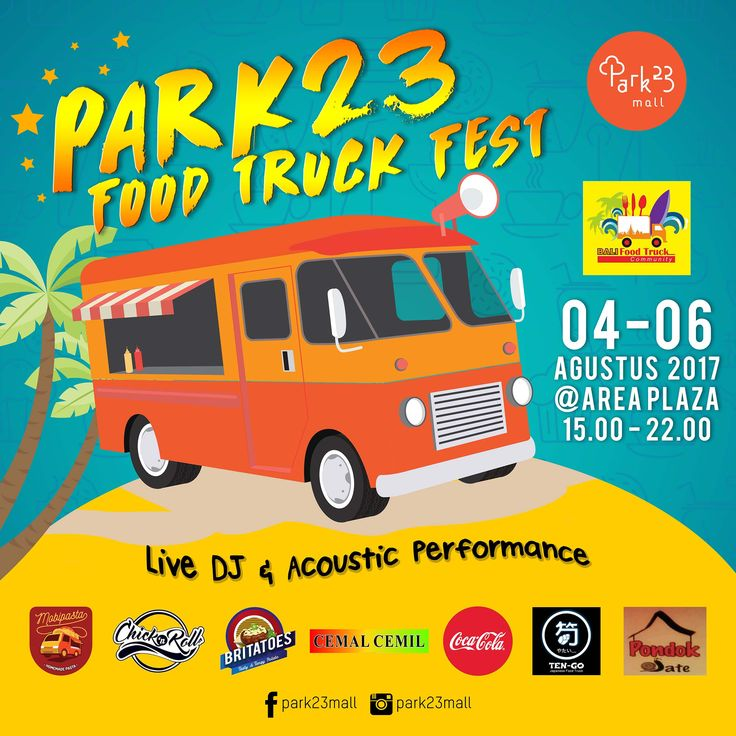 Artwork Food Truck Fest_Park23mall
