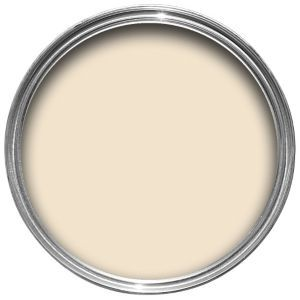 Dulux Matt Almond White Emulsion Paint 2.5L | Departments | DIY at B&Q | this is a lovely pale cream | complimented by Jasmine White woodwork