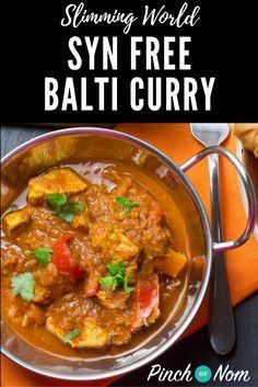 Syn Free Curry Balti | Slimming World Recipes - http://pinchofnom.com