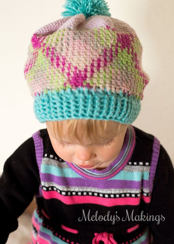 Free Crochet Pattern!  Take your color pooling beyond the basic scarf using this awesome tutorial for the Pooling Party Slouch Hat.  Can be made in any size!