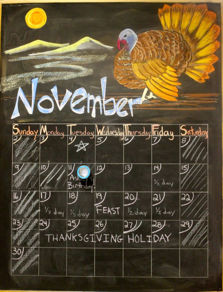 November Chalkboard Calendar Ideas : Best ideas about chalkboard dreams on pinterest