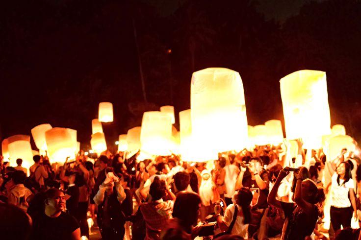 Human Interest - Borobudur Lanterns