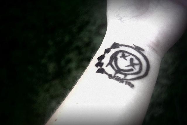 Blink-182 tattoo