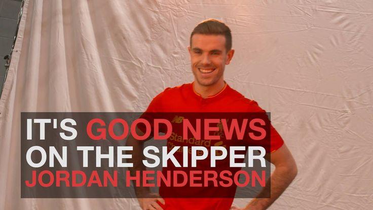 Jürgen Klopp delivers some good news on Jordan Henderson...