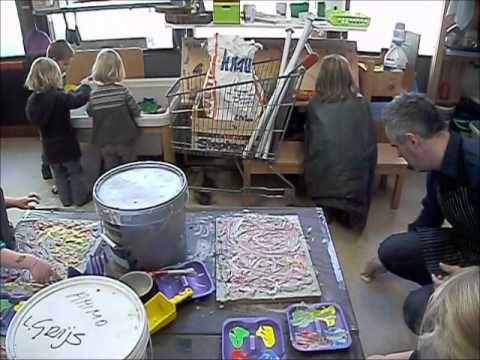 Boone Yves - KUNST - JAMES ENSOR - werken rond kunst in de kleuterklas