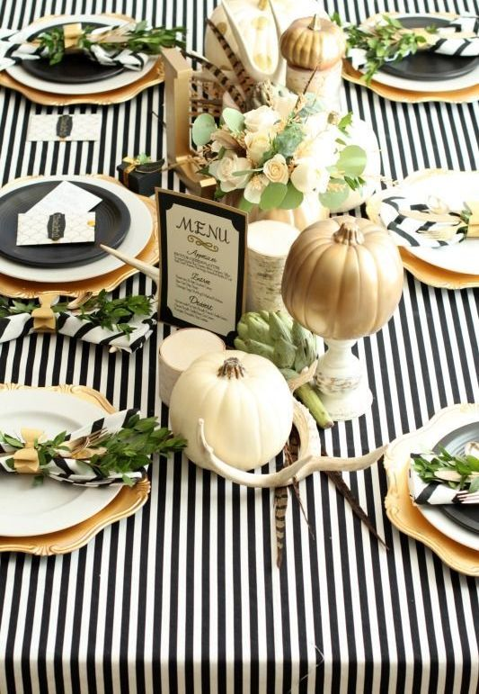 27 Cozy And Eye-Catching Thanksgiving Table Settings