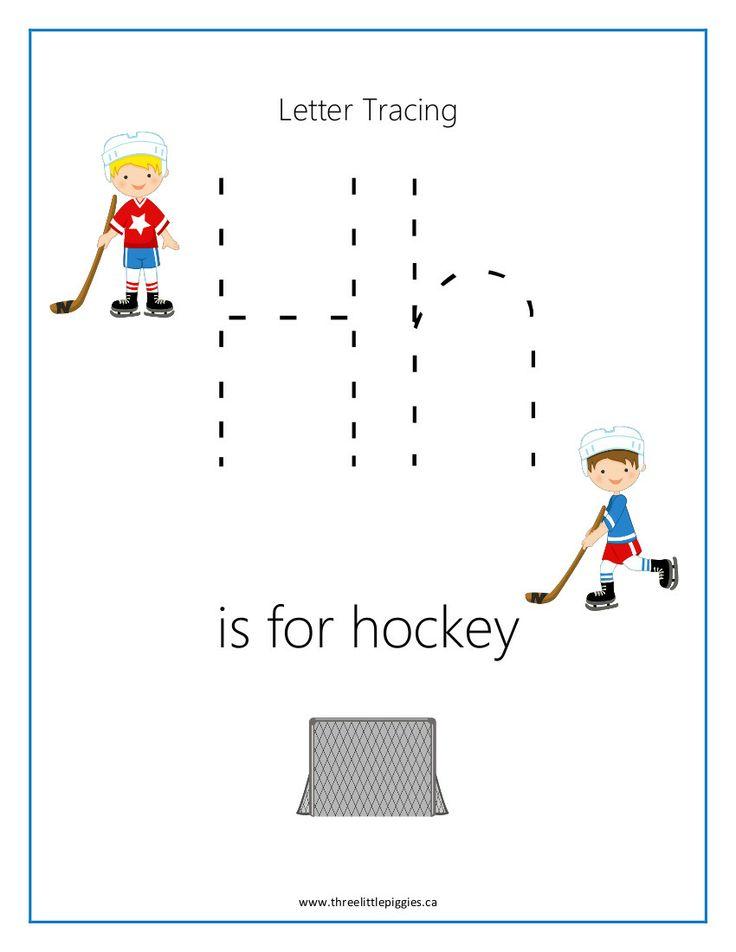 Super cute, fun hockey activities