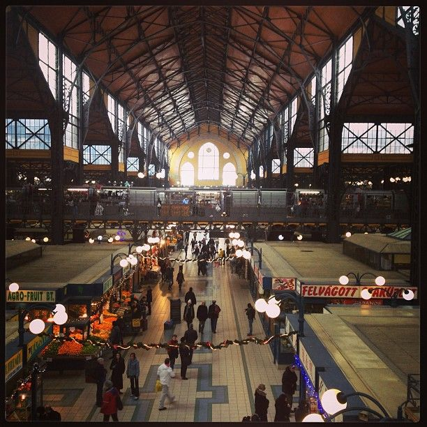 Vásárcsarnok   Central Market in Budapest, Budapest