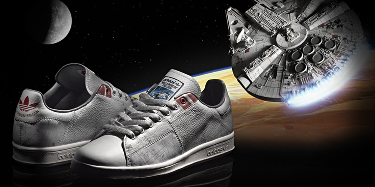 Millennium Falcon Adidas Shoes