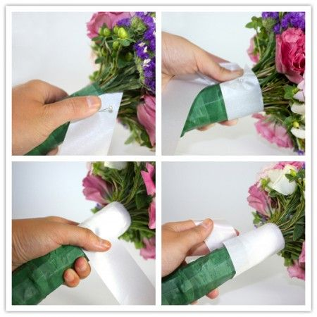 How To: Make A Wedding Bouquet « A Practical Wedding: Ideas for Unique, DIY, and Budget Wedding Planning