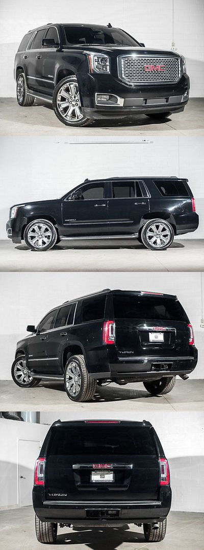 SUVs: 2016 Gmc Yukon 4Wd 4Dr Denali 2016 Gmc Yukon 4Wd 4Dr Denali 24307 Miles Onyx Black Suv 6.2L 8 Cylinder 8-Speed BUY IT NOW ONLY: $44544.0