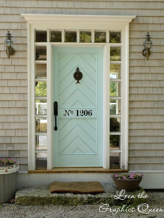 front door decorations entrance | 20 colorful front door colors - Four Generations One Roof & 11 best Doors images on Pinterest | Colored front doors Aqua ... pezcame.com