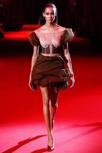 Ulyana Sergeenko Spring/Summer 2017 Couture Collection | British Vogue