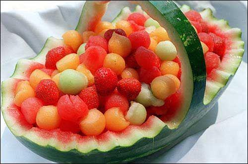 watermelon+baby+carriage+fruit+basket | Watermelon Fruit Basket Ideas | ...