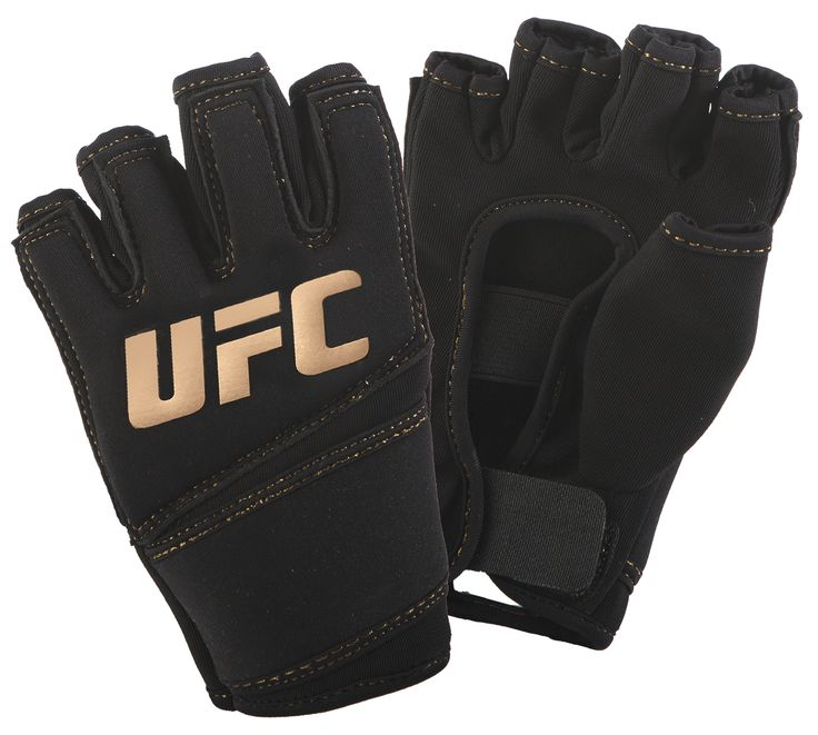 UFC Women's Gel Glove UFC Gloves UFC Women's Gel Training Glove - Made with soft and durable neoprene fabric. Gel padding and elastic wrist wraps provide a custom fit. Specially designed to fit a woma