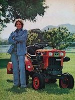 Kubota Lawn Tractor 1979 Ad Picture