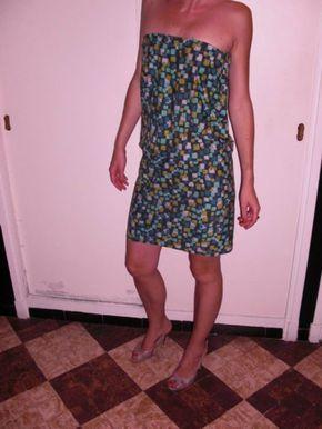 tuto robe sessun / robe bustier