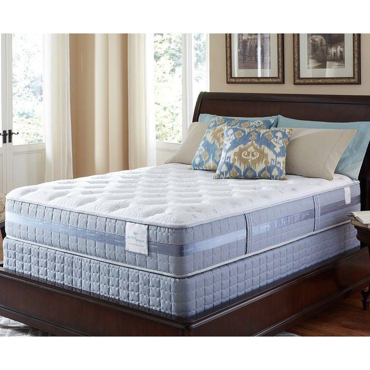 Serta Perfect Sleeper Majestic Retreat Plush Full-size Mattress and Foundation Set