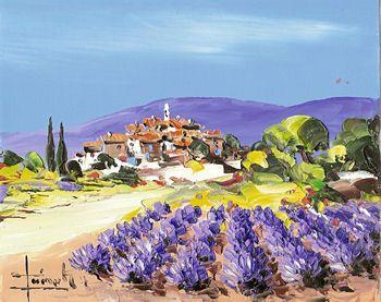tableau peinture provence
