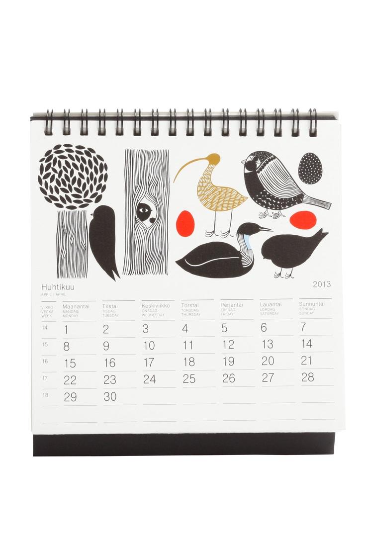 Marimekko Table Calendar