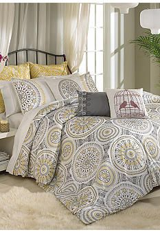 possible bedding for new king bed belk vue blackbird bedding collection for the home. Black Bedroom Furniture Sets. Home Design Ideas