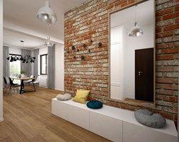 Mieszkanie - 85 m2 - Hol / przedpokój, styl skandynawski - zdjęcie od BIG IDEA studio projektowe