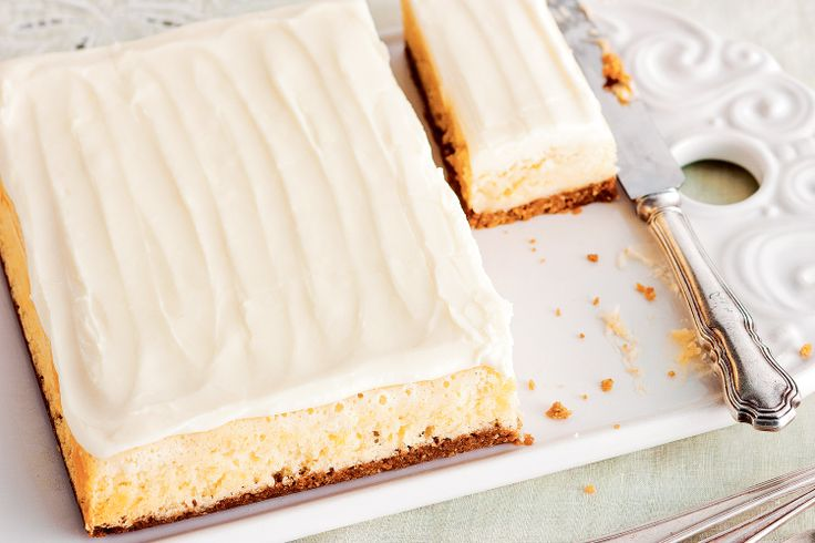 Serve this slice on the day you make it. Better invite a few people over so you dont have to eat it all!
