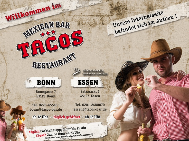 Bonn, Germany @ Tacos Bar. If the website has a picture of a person salting a *lemon* before putting it into a beer and/or is wearing a crocodile-patterned cowboy hat, run away, quickly.