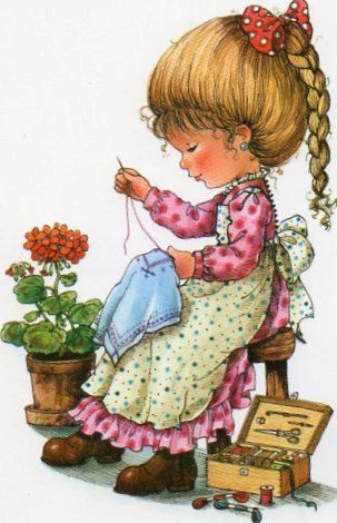 Vintage Postcard Mary May by CuteEyeCatchers on Etsy