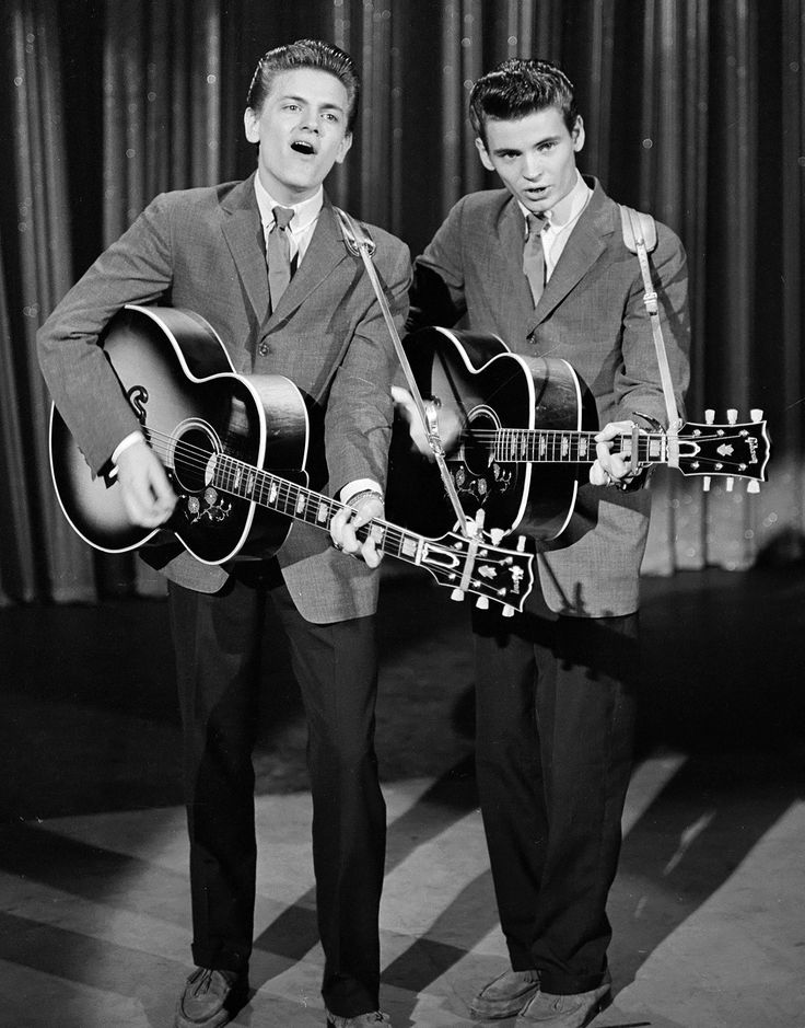 Check out the Everly Brothers if you want to hear some real harmonies!
