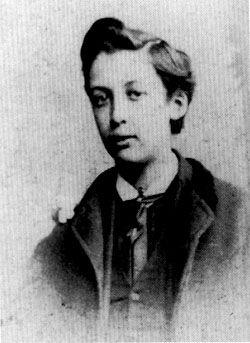 Young Oscar Wilde