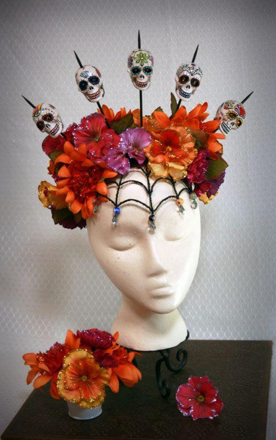 Dia De Los Muertos Headdress: A Colorful Mourning