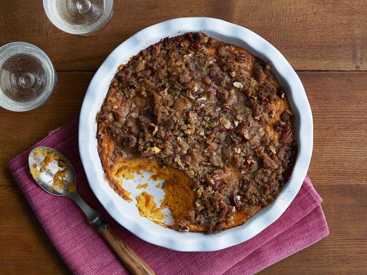 Sweet Potato Souffle recipe from Jamie Deen via Food Network
