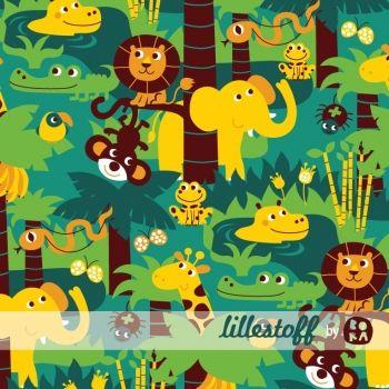 Lillestoff Deep In The Jungle Cotton Knit