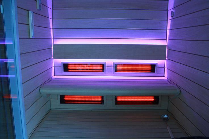 Jedna z ostatnich realizacji @saunaline1  - sauna fińska Best Line z promiennikami Infra Red #sauna #sauny #infrared