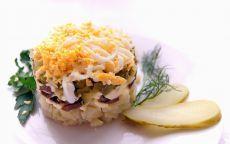 Оригинальный салат на день рождения Очень красивый салатик приведет в восторг участников праздника! Это оригинальный салат, который подходит к разным праздникам: день рождения, Новый год, Рождество, 8 марта, Пасха.   Познакомь