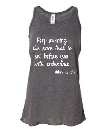Running tank top for women's  running tops for by runningonthewall, $24.99 -- Love this!