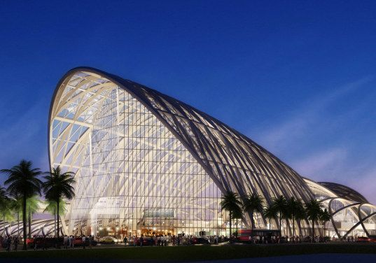 ARTIC High Speed Rail Station in Orange County by HOK