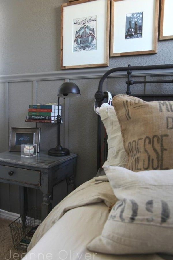 Industrial Decorating Ideas And Tips Bedroom Makeover Before