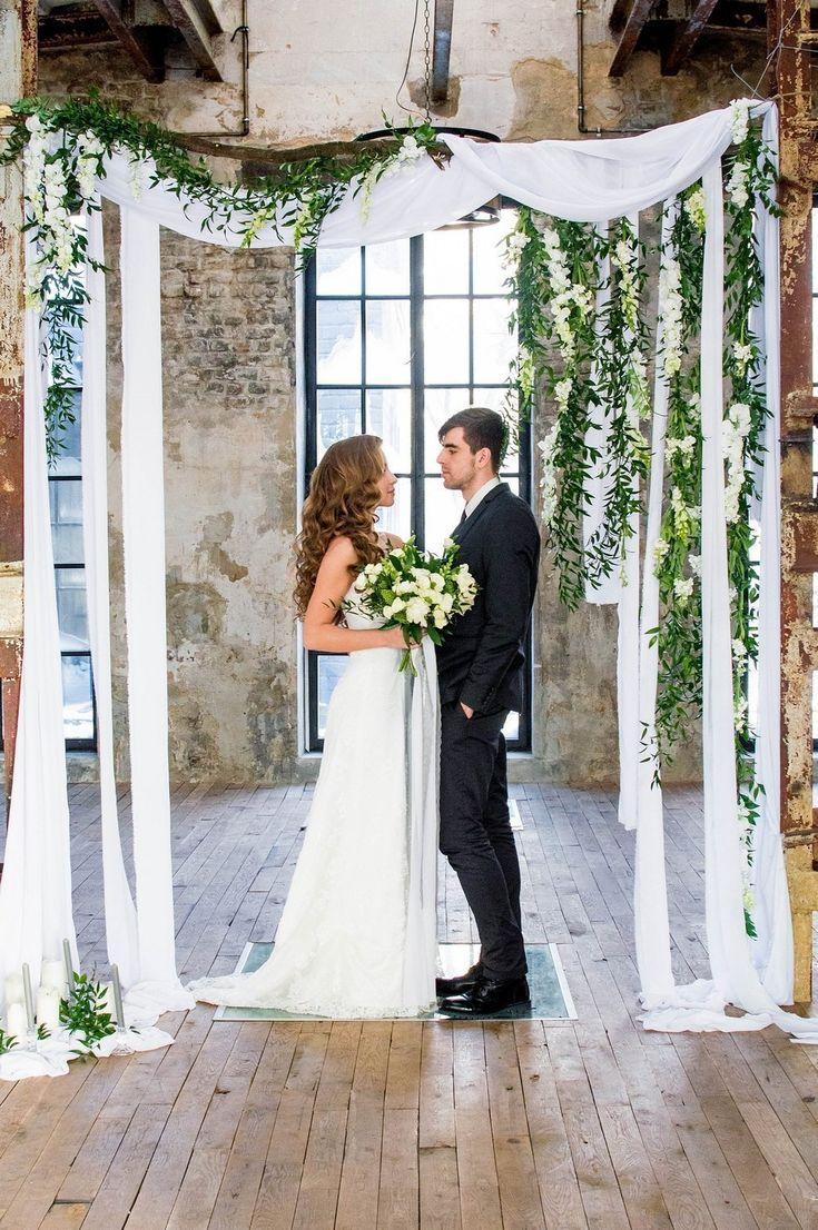 Элегантная свадебная арка