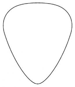 Guitar Pick Clip Art