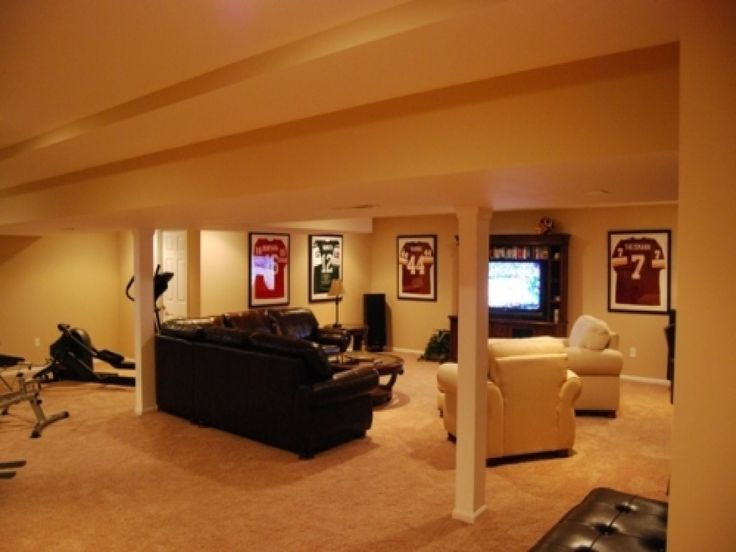Cheap Basement Finishing Ideas Plans Home Design Ideas Beauteous Cheap Basement Finishing Ideas Plans