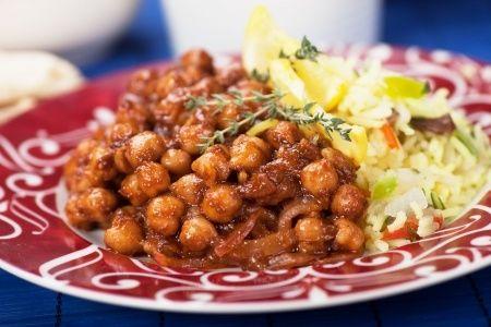 La #recette du Sindhi Chola : pois chiches cuisinés à l'indienne !