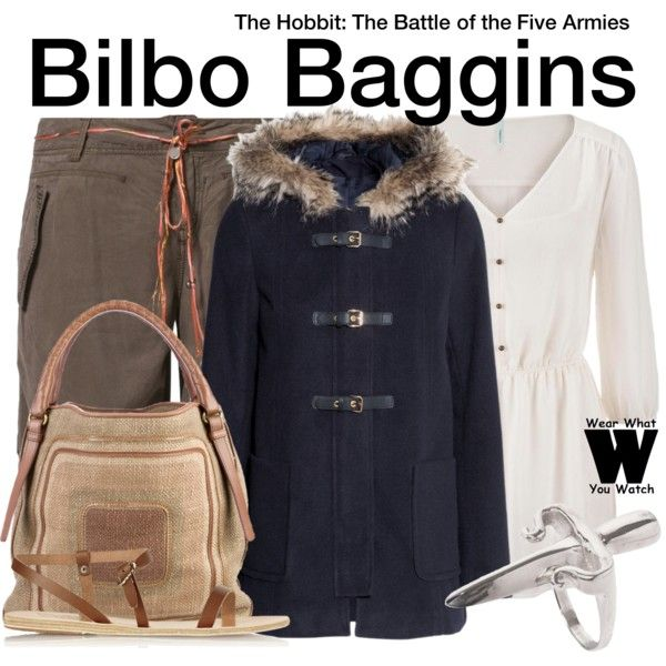 Inspired by Martin Freeman as Bilbo Baggins in 2014's The Hobbit: The Battle of the Five Armies.