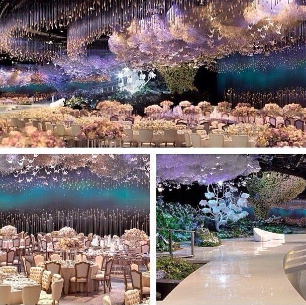 Dubai wedding... Es hermoso. Solo lo pongo porque me imagino estar allí.