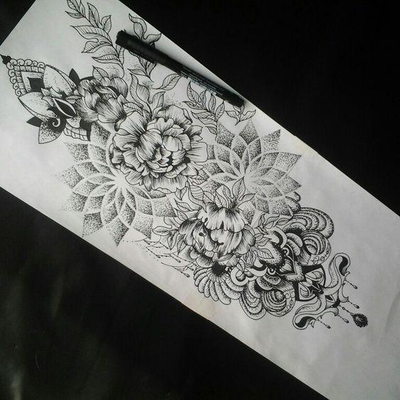 30 Beautiful Scroll Tattoos: 30 Beautiful And Sexy Tattoos For Girls