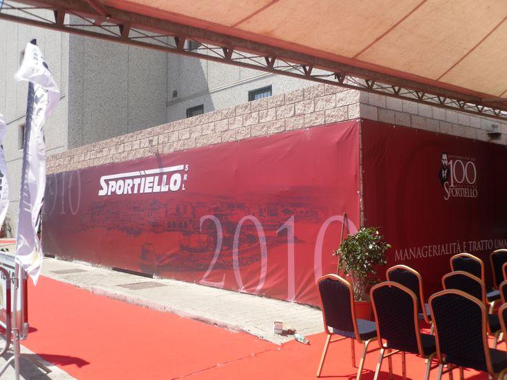 Graphis Studio per Sportiello Srl, cento anni di attività