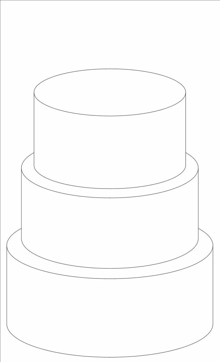 Tiered Cake Design Template : 17 Best images about Round Design Templates on Pinterest ...