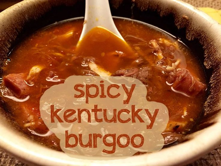 This Kentucky Burgoo recipe is one of my new favorites, I've already ...